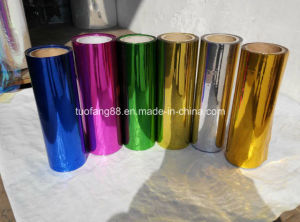 Pet/PVC Colorful Metallic Foil