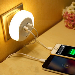 USB Socketcharger Sensor Night Light pictures & photos