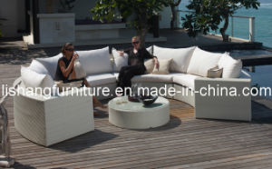 Rattan Round Outdoor Furniture, Outdoor Round Sofa