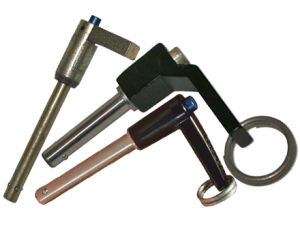 Quick Release Ball Lock Pins with Plastic L Handles