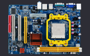 Esonic Amd Motherboard Mainboard Nvidia C61, Support Am2 CPU. Skt940 pictures & photos