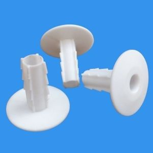 Plastic White Cable Wall Bushing for Rg8 Coaxial Cable pictures & photos