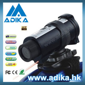 RC 720p HD Sport Camera with 120 Degree Wide Lens ADK-S708