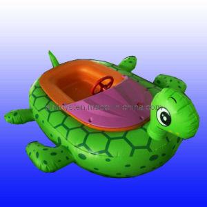 China Children Electric Bumper Boat Turtle Designs Dnl