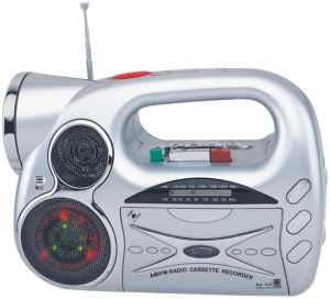 Professional Multi-Function Portable Radio Cassette Recorder Player With Torch (AY-938DL)