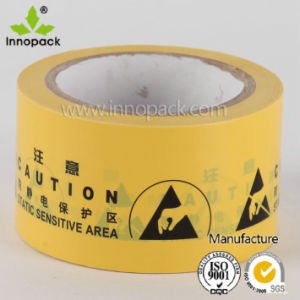Electrical Static Caution Tape for Static Warning and Marking pictures & photos