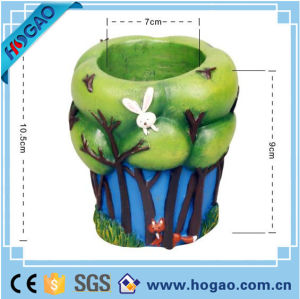 Hand-Made Resin Flower Pot for Garden pictures & photos