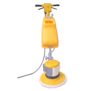 "17"" Floor Scrubber Hand Push Floor Cleaning Machine for Hotel Factory Home pictures & photos"