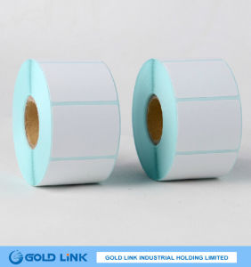 78g Top Direct Thermal Paper Acrylic 62g Blue Glassine Liner