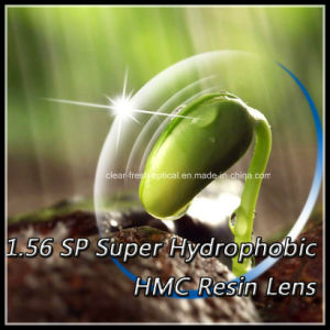 1.56 Sp Super Hydrophobic Hmc Resin Lens