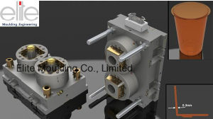 Plastic Injection Mould for PP Ultra Thin Wall Parts and Tooling