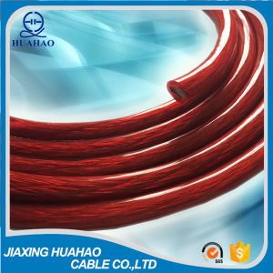 Red Transparent PVC Car Power Cable pictures & photos