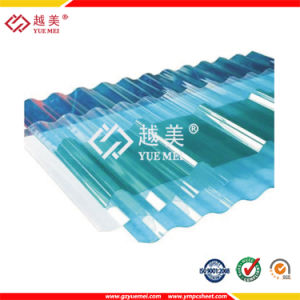 100% Virgin Material Polycarbonate Corrugated Plastic Roof Sheets for Sale pictures & photos