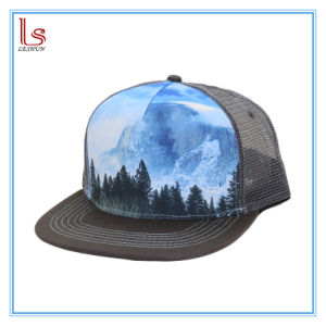 92ca87d35c8 China Custom Picture Printing Flat Panel Snapback Adjustable Trucker ...