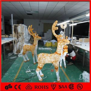 Holiday Light Wholesale 24V 5m Christmas Acrylic Reindeer Garden/Christmas/Park Decoration