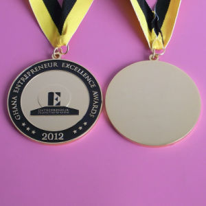 Gold Enamel Excellence Awards Custom Medal pictures & photos