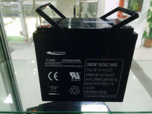 12V50ah Solar Power Battery for Solar Street Light pictures & photos