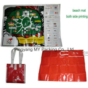 Portable Folded Outdoor PP Lamination Picnic Mat Beach Mat pictures & photos