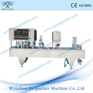 Used Cup Filling Sealing Machine for Liquid pictures & photos