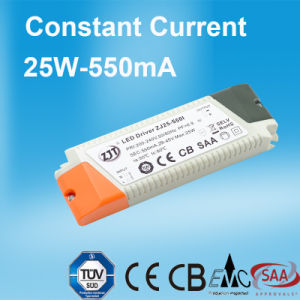Constant Current LED Power Supply with 25W Power and 550mA