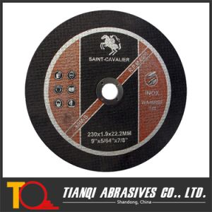 9′ Ultra Thin Cutting Disc for Stainless Steel 230mm pictures & photos