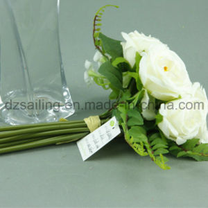 Decorative Artificial Flower of Royal Rose Bouquet (SF11684B/7)