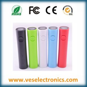 Latest Design 2600mAh Universal Portable Power Bank with LED Light pictures & photos