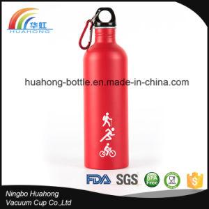 750ml (25 oz) Aluminum Water Bottle with Carabiner