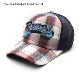Promotional Embroidery Fashion Leisure Mesh Cap