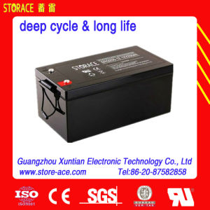 Deep Cycle Batteries for Outdoor Equipment 12V 200ah (SR200-12) pictures & photos