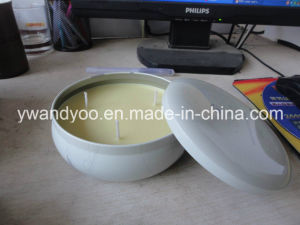 Natural Aroma Candle in Round Tin
