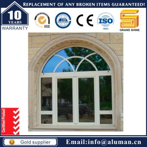 Aluminum Swing/ Casement Window with Anti-Theif Grill (50)