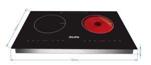 CB CE 4000W Built in Stainless Steel 2 Burner Vietnam Philippines Spain Electric Induction Cooktop pictures & photos