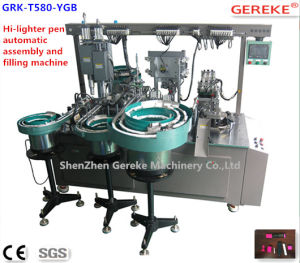 Stationery Pen Equipment- Hi Lighter Pen Automatic Assembly and Filling Machinery pictures & photos
