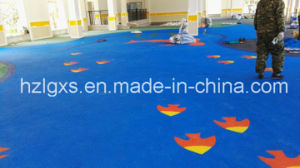 PAHs Approved EPDM Granules Rubber Floor for Parks pictures & photos