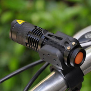Bicycle Light 7 Watt 2000 Lumens 3 Mode CREE Q5 LED Cycling Front Light Bike Lights Lamp Torch Waterproof Zoom Headlight Flashlight pictures & photos