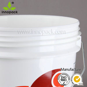 5 Gallon Plastic Buckets with Lid and Handle pictures & photos