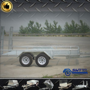 Large Dimensions Car Transport Truck Trailer with Suspension System pictures & photos
