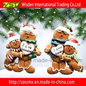 Polymer Clay Christmas Decorations.Polymer Clay Doll Family Customized Christmas Ornament