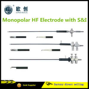 Laparoscopic Monopolar Hf Electrode Suction Irrigation pictures & photos