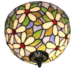 China 12 Inch Tiffany Style Ceiling Lamp Tiffany Bedroom Ceiling ...