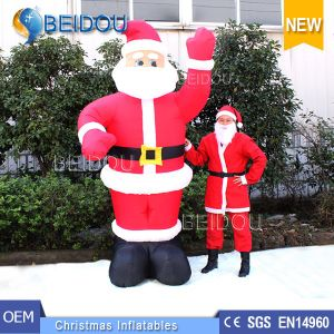 factory wholesale cheap inflatable santa giant christmas inflatable santa claus - Christmas Inflatables Cheap