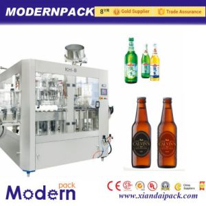 Triad Bottle Filling Machine/Beer Filling Machine pictures & photos