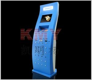 19 Inch Self Service Coupon Printer Kiosk with Advertising Display pictures & photos