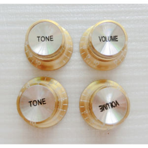 Reflector Guitar Knobs Volume Tone Control Guitar pictures & photos
