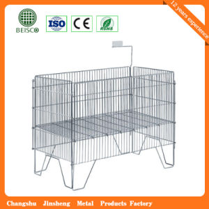 Wholesale Lockable Warehouse Mesh Container pictures & photos