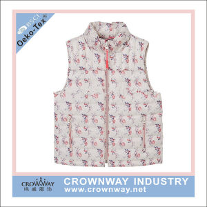 Children′s Padded Waistcoat with Cute Lovely Printing pictures & photos