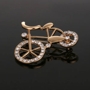 VAGULA Classical Rose Gold Plated Rhinestone Jewelry Brooch pictures & photos