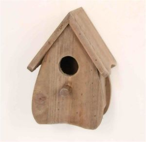 Antique Style Wooden Natural Brown Birdhouse pictures & photos