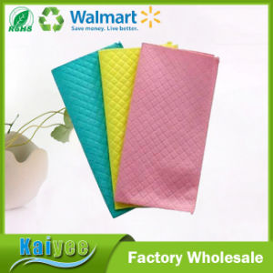 Multicolor Cleaning Products Superfine Fiber Composite Cleaning Cloth pictures & photos